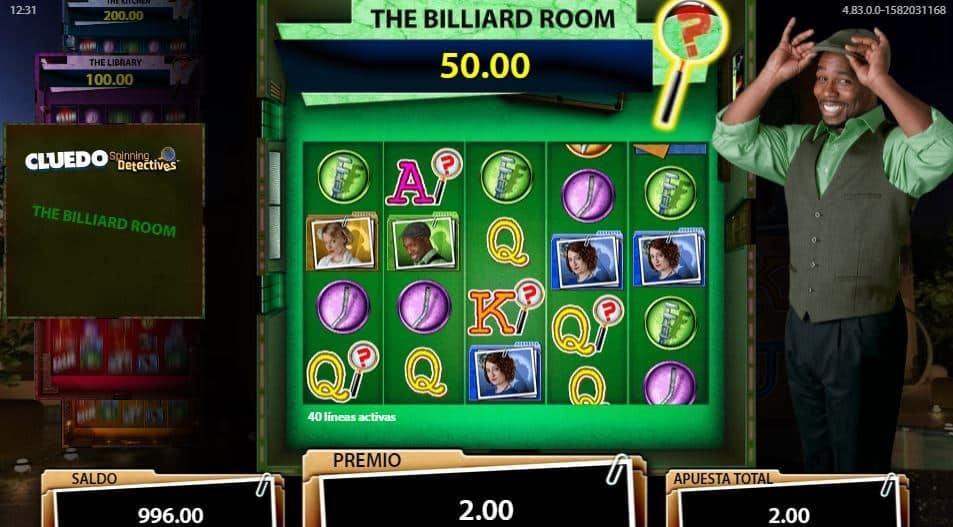 Función de bonus muy popular que ofrece spins gratis y Juegos especiales en Cluedo Spinning Detectives