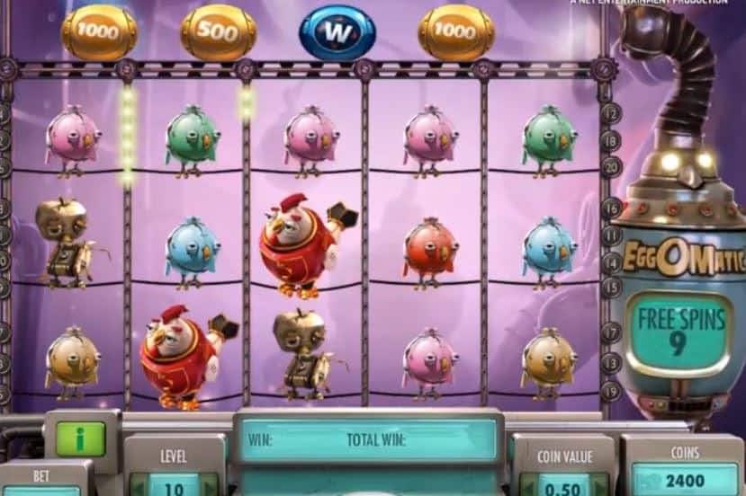 Función de bonus muy popular que ofrece spins gratis y Juegos especiales en Eggomatic