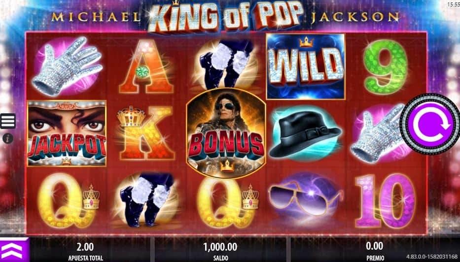 Símbolos, Gráficos, sonidos y animaciones de Michael Jackson King of Pop