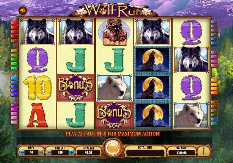 Símbolos, Gráficos, sonidos y animaciones de Wolf Run