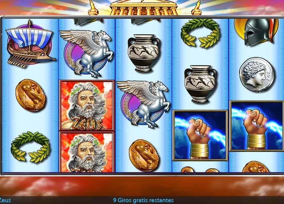Función de bonus muy popular que ofrece spins gratis y Juegos especiales en Zeus