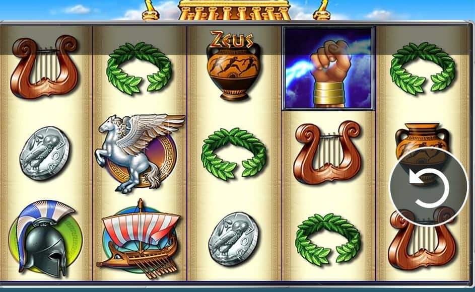Símbolos, Gráficos, sonidos y animaciones de Zeus