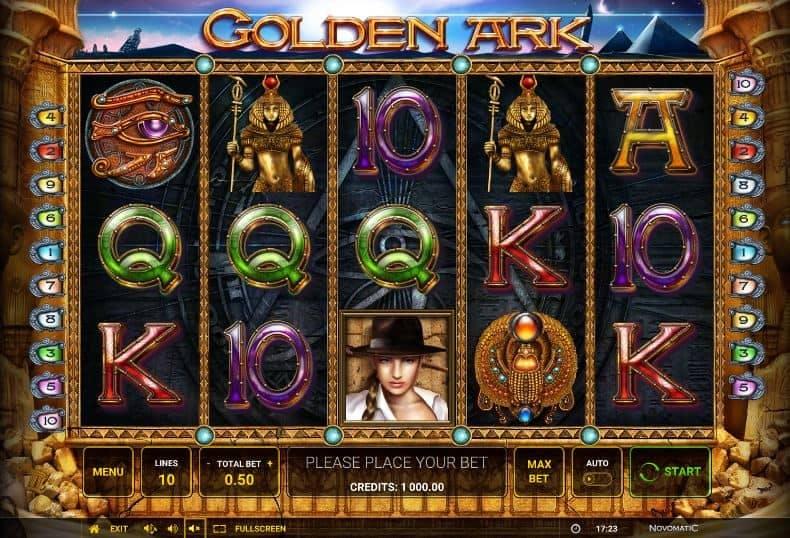 Símbolos, Gráficos, sonidos y animaciones de Golden Ark