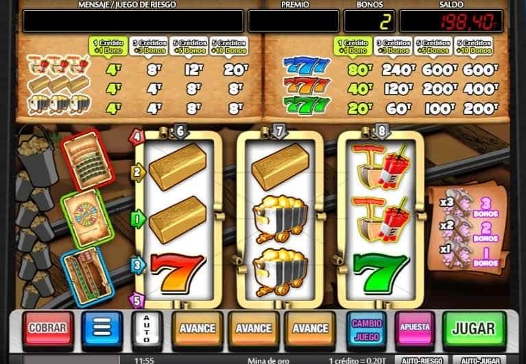 Función de bonus muy popular que ofrece spins gratis y Juegos especiales en Mina de Oro