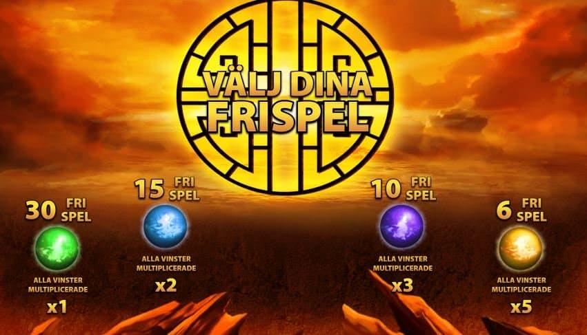 Función de bonus muy popular que ofrece spins gratis y Juegos especiales en Super Red Phoenix