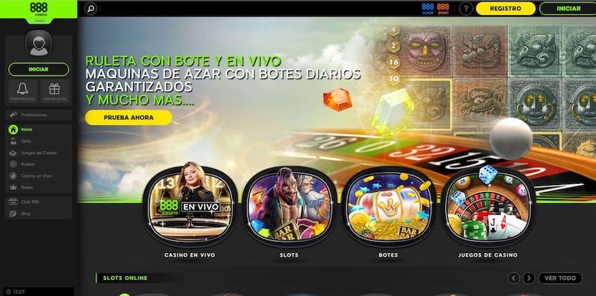 Juegos de slot online en 888 casino