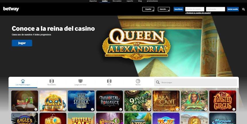 juegos de slot online en Betway