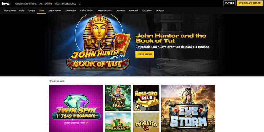 juegos de slot online en Bwin