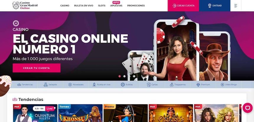 juegos de slot online en Casino Gran Madrid