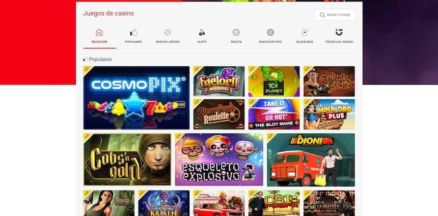 juegos de slot online en Circus.es