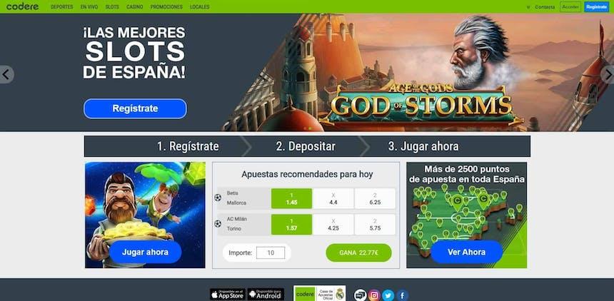 juegos de slot online en Codere
