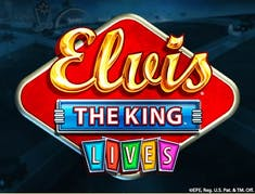 ELVIS: THE KING Lives logo