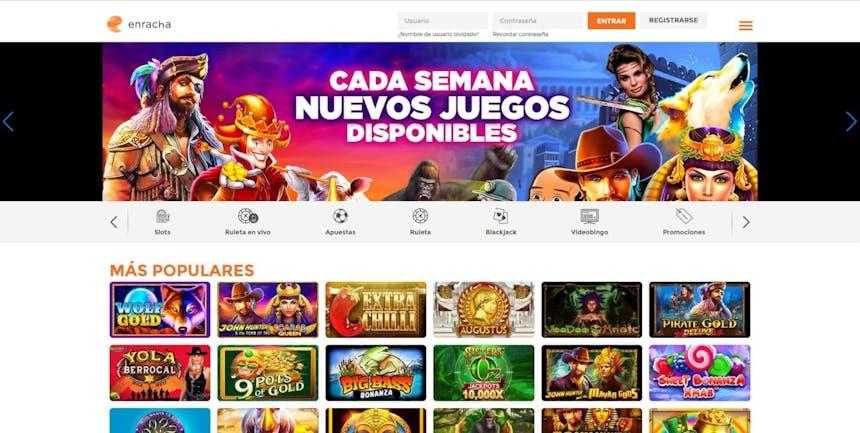juegos de slot online en Enracha