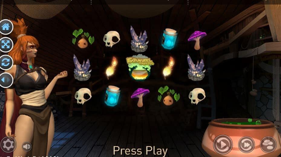Símbolos, Gráficos, sonidos y animaciones de Extrareel Magic Pot