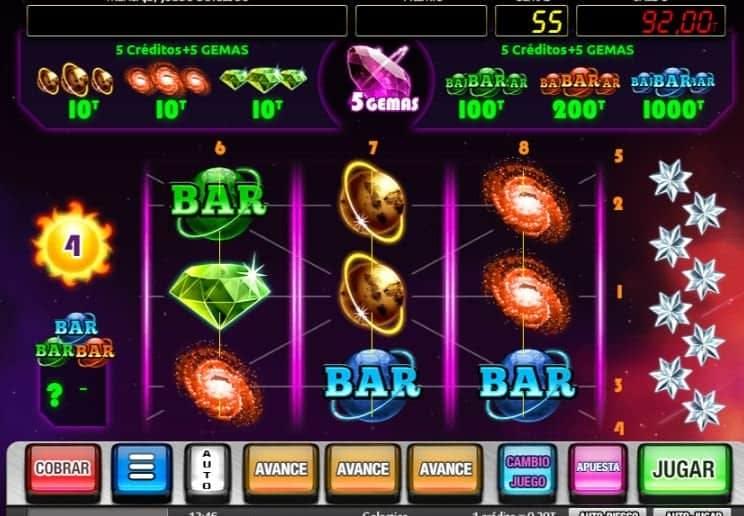 Función de bonus muy popular que ofrece spins gratis y Juegos especiales en Galactica