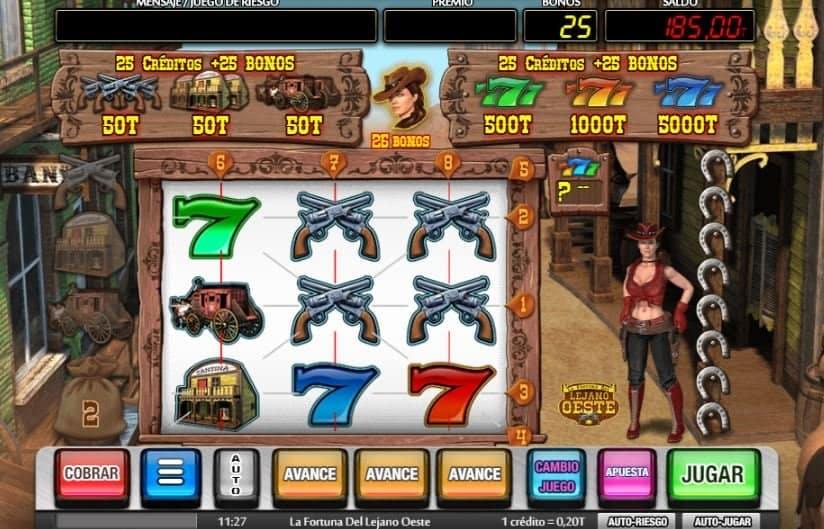 Función de bonus muy popular que ofrece spins gratis y Juegos especiales en la fortuna del lejano oeste