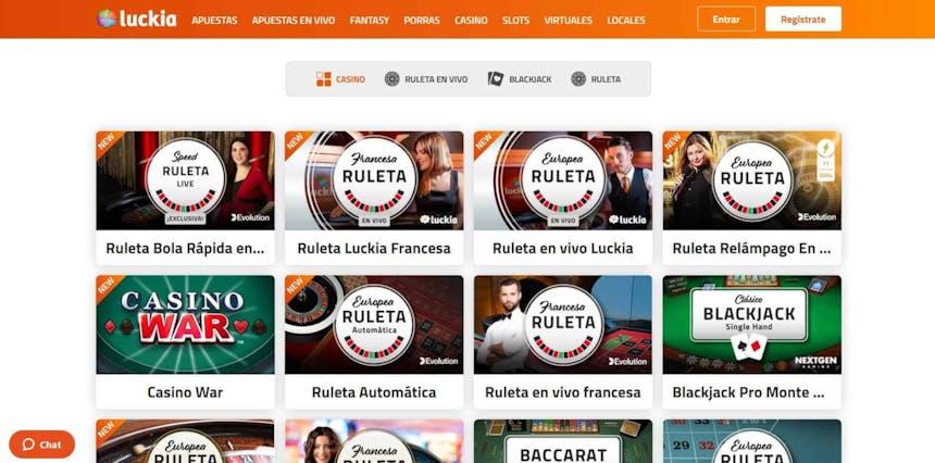 juegos de slot online en Luckia
