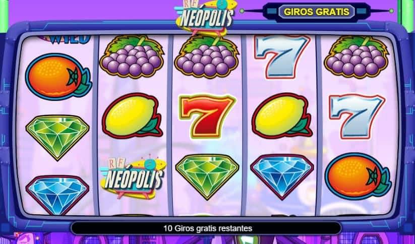 Función de bonus muy popular que ofrece spins gratis y Juegos especiales en Neopolis