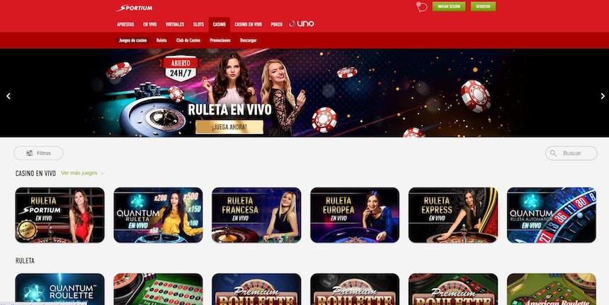 juegos de slot online en Sportium