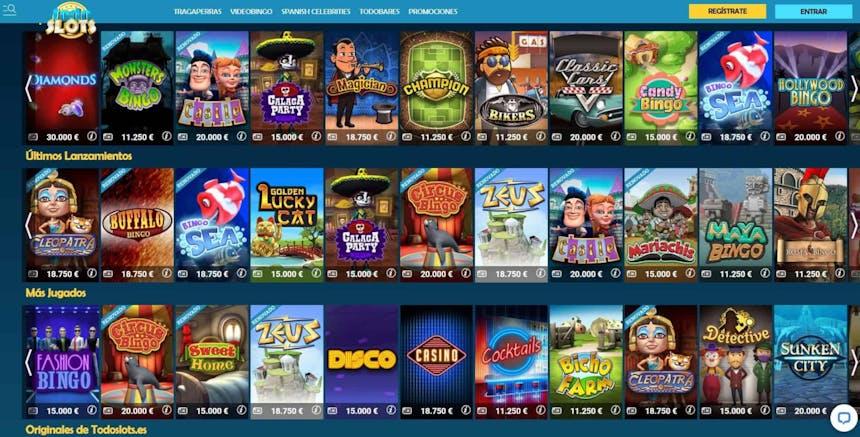 juegos de slot online en Todoslots