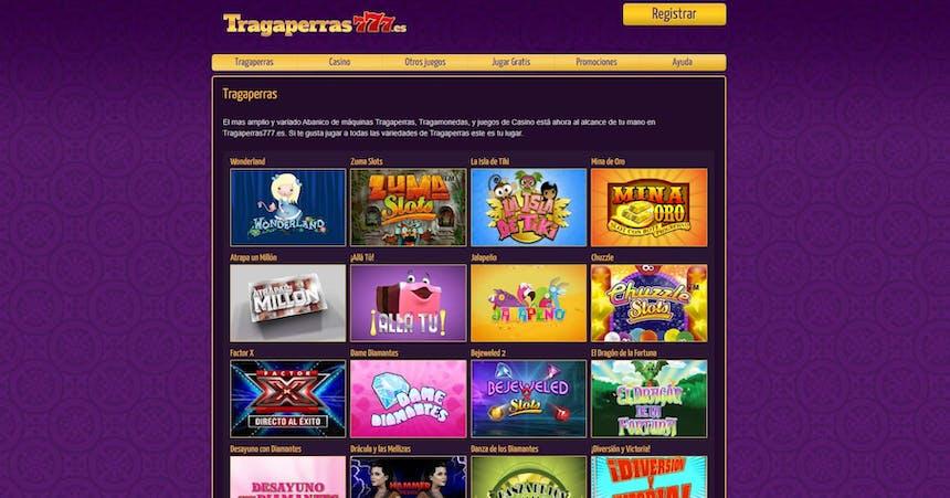juegos de slot online en Tragaperras777