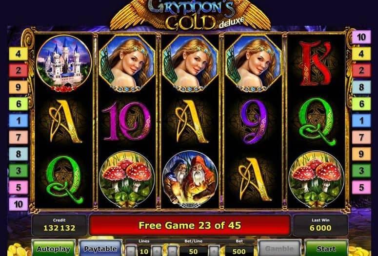 Función de bonus muy popular que ofrece spins gratis y Juegos especiales en Gryphon's Gold deluxe