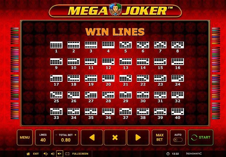 Formas diferentes de realizar combinaciones ganadoras en Mega Joker