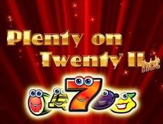 Plenty on Twenty II Hot logo
