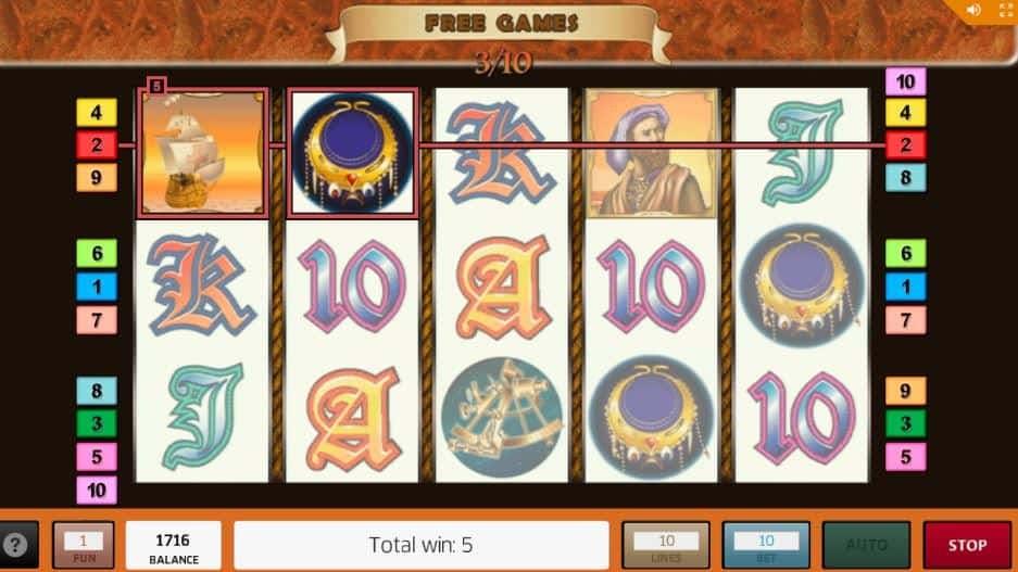Función de bonus muy popular que ofrece spins gratis y Juegos especiales en Columbus