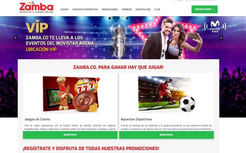 Juegos de slot online en Zamba