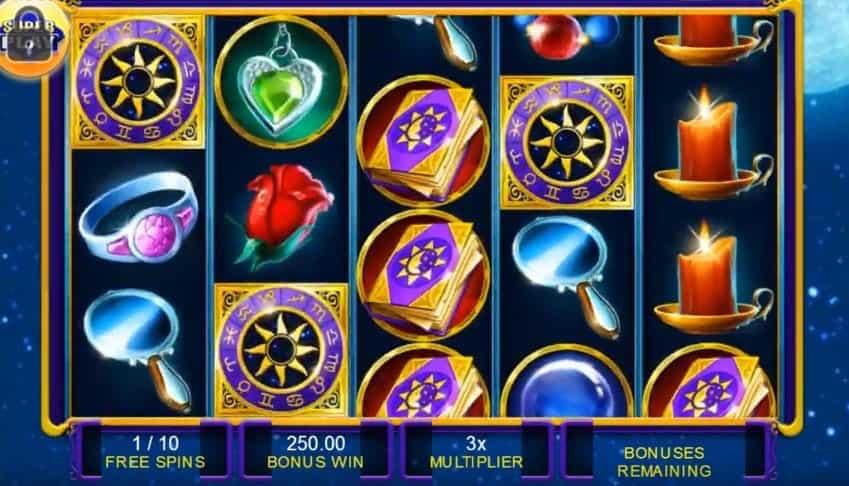 Función de bonus muy popular que ofrece spins gratis y Juegos especiales en Gypsy Moon