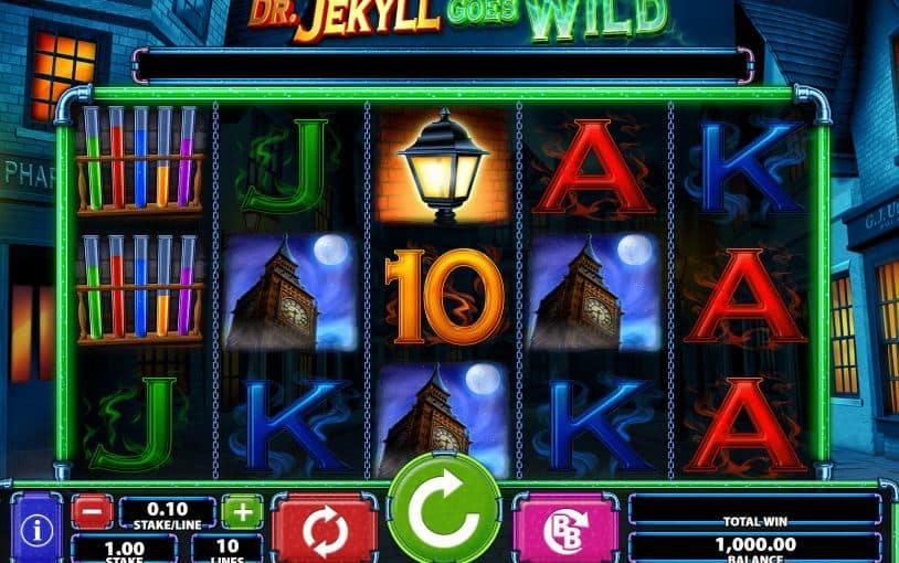 Símbolos, Gráficos, sonidos y animaciones de Dr.Jekyll Goes Wild