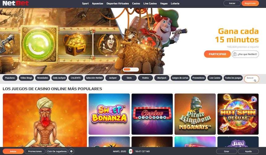 Juegos de slot online en Netbet