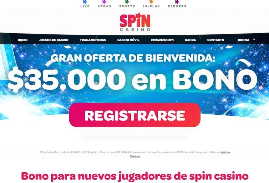 bono e promozione del Spincasino