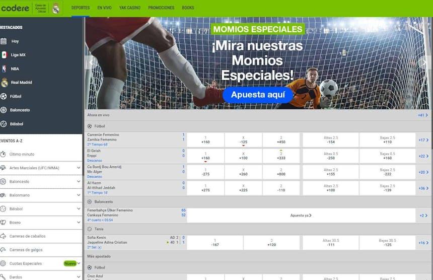 Disfruta en Codere de las mejores apuestas deportivas online