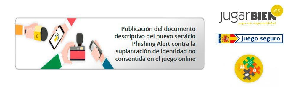 Phishing Alert: proteger a los jugadores en webs de la DGOJ