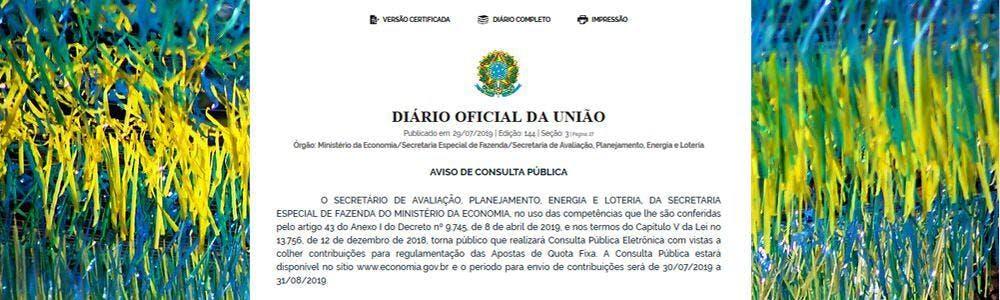 Brasil inicia el proceso para regular el juego