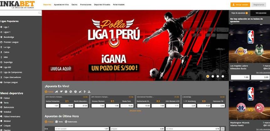 Disfruta en Inkabet de las mejores apuestas deportivas online