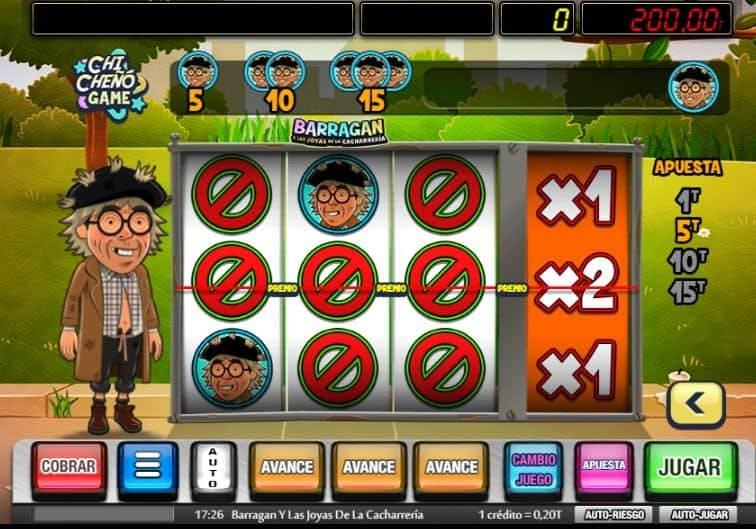Función de bonus muy popular que ofrece spins gratis y Juegos especiales en Barragan y Las Joyas De La Cacharreria