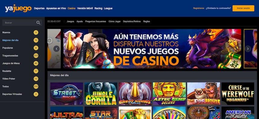 Disfruta del casino en vivo y juega a tu juego favorito en Yajuego