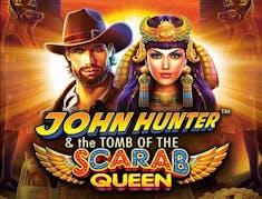 John Hunter Tomb of the Scarab Queen logo