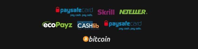 Metodos de pago del Uniquecasino
