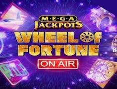 MegaJackpots Wheel of Fortune On Air logo