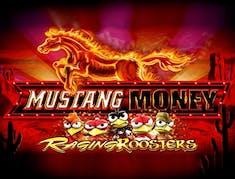 Mustang Money Raging Roosters logo