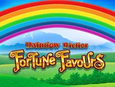Rainbow Riches Fortune Favours logo