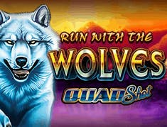 Run with the Wolves Quad Shot logo