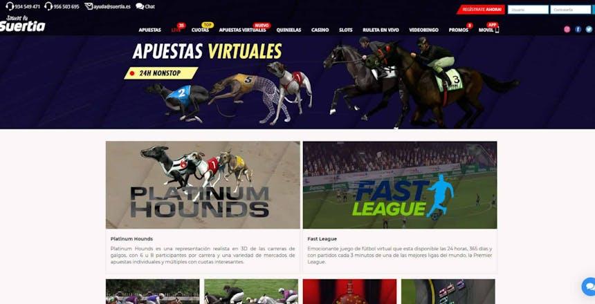 Disfruta en Suertia de las mejores apuestas deportivas online