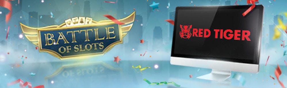 Red Tiger incorpora su contenido a Battle Of Slots