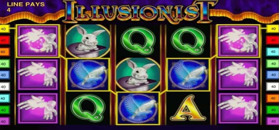 Función de bonus muy popular que ofrece spins gratis y Juegos especiales en Illusionist