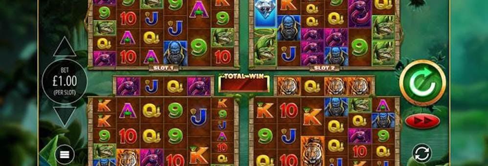 Blueprint Gaming presenta el modo Power 4 Slots con Gorilla Gold Megaways